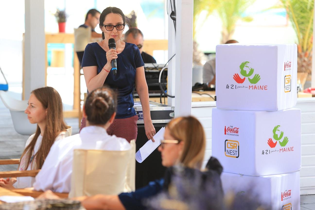 """""""Azi pentru Mâine"""", o campanie Asociatia CSR Nest"""