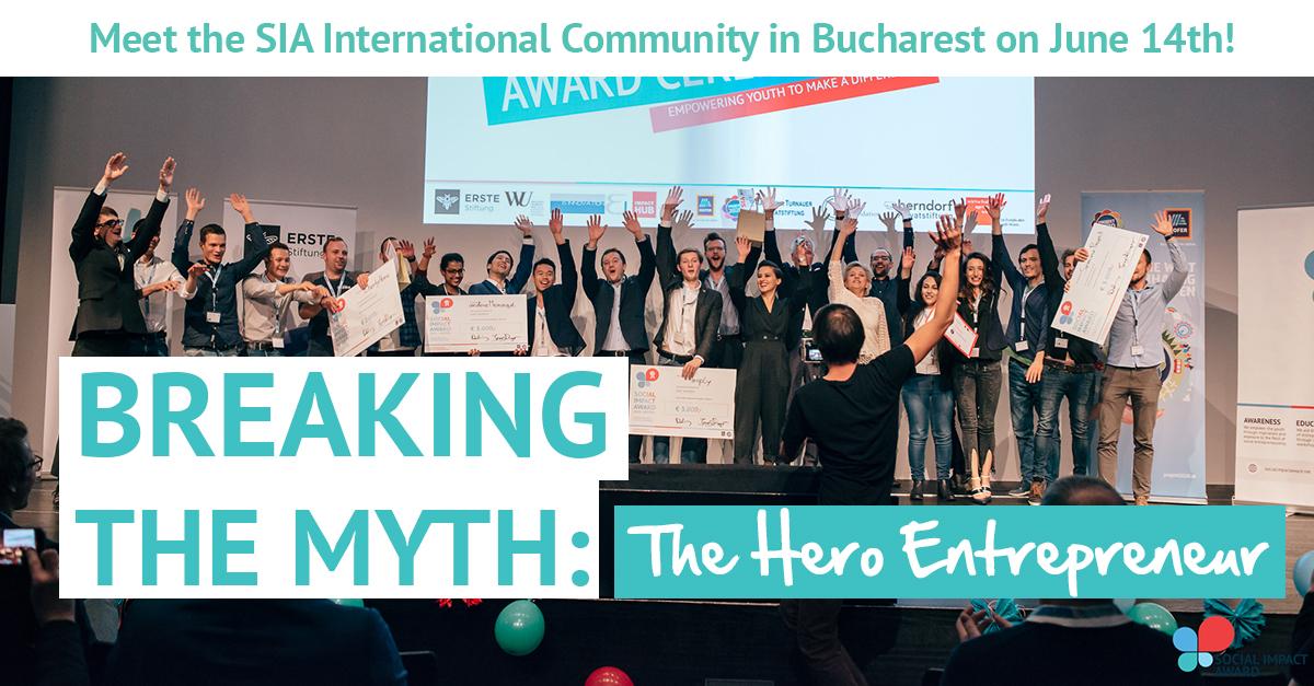 Vino să cunoști comunitatea internațională Social Impact Award pe 14 iunie!