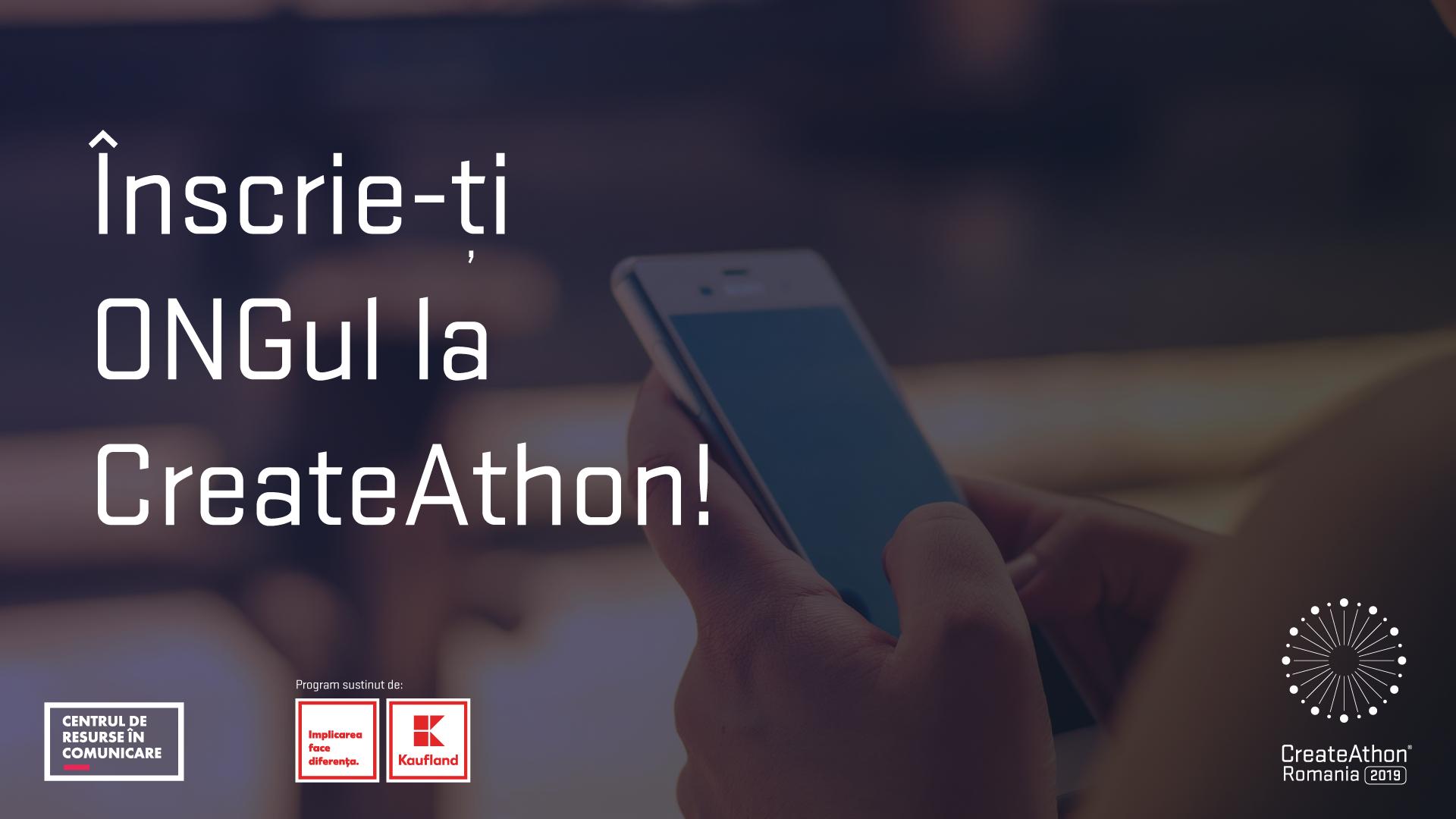 Ultimele 10 zile în care îți poți înscrie ONG-ul la CreateAthon® România