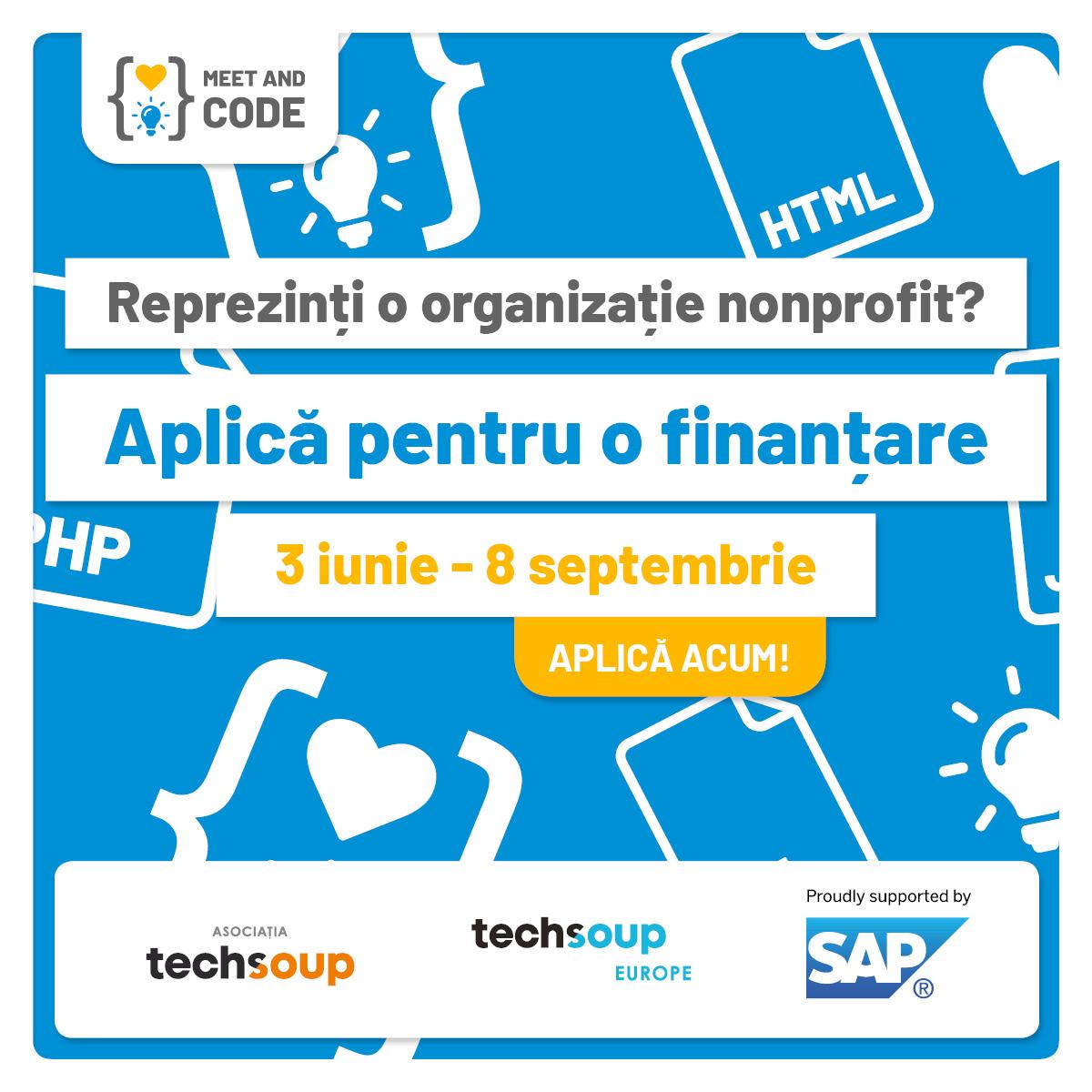 27.000 de Euro pentru evenimente de programare È™i tehnologie organizate de ONG-uri