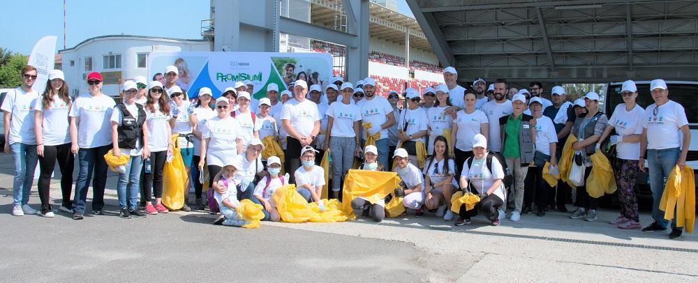 Nestlé a mobilizat peste 400 de voluntari în acțiuni de ecologizare