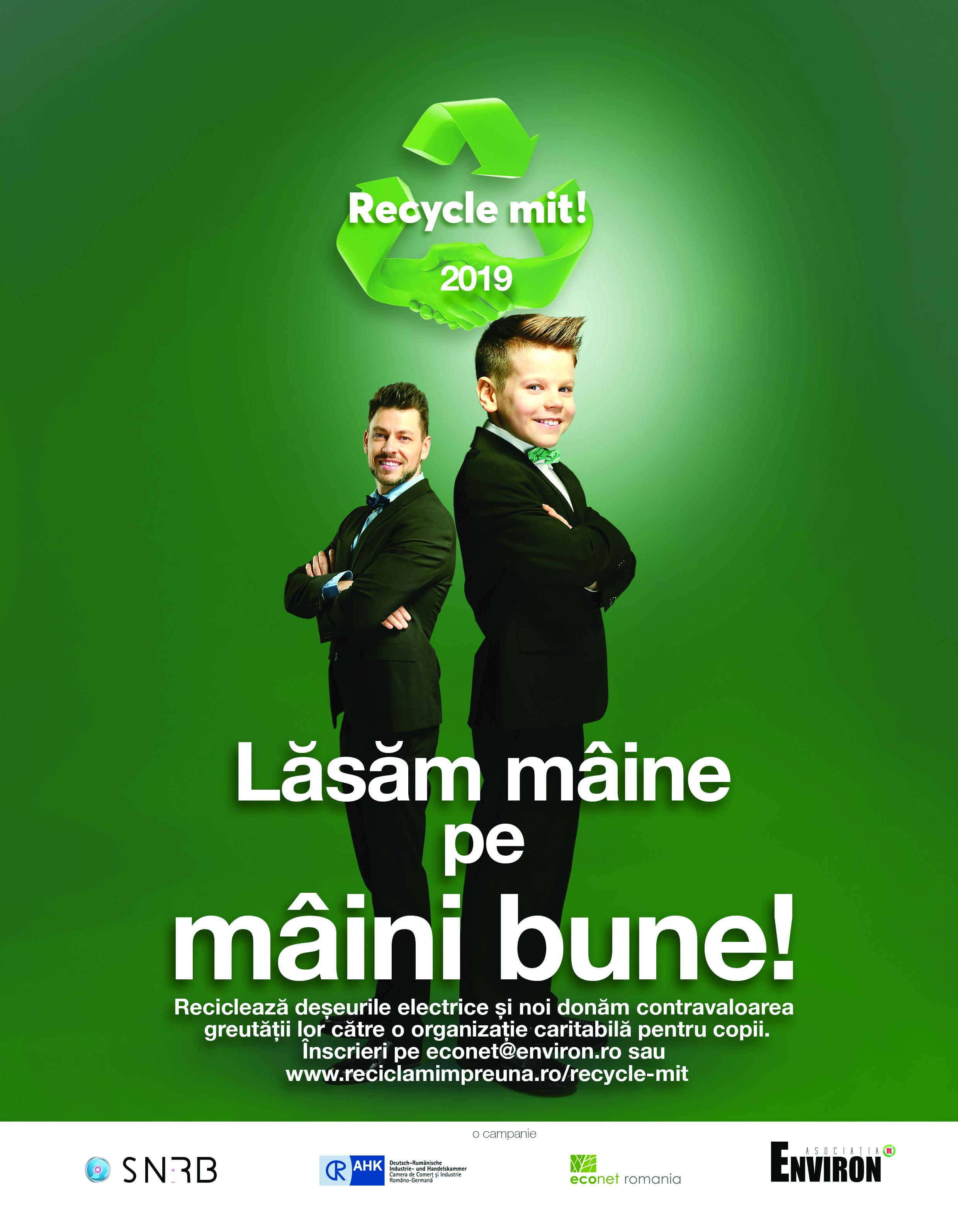 """Asociaţia Environ dă startul competiţiei """"Leapşa Reciclării�"""