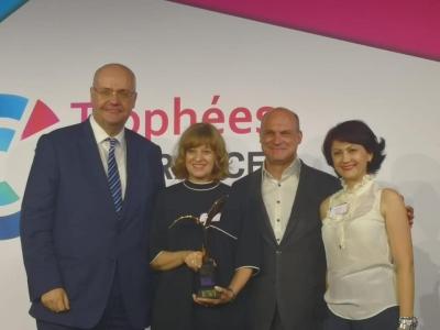 Primul premiu internaţional pentru Dăruieşte Viaţă