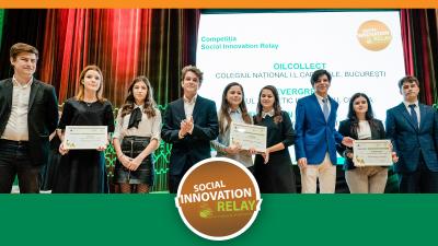 O echipă de liceeni din București va participa la finala globală a competiției Social Innovation Relay