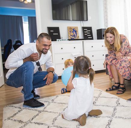 Hope and Homes for Children și partenerii au inaugurat casa de tip familial ,,Cavalerii�