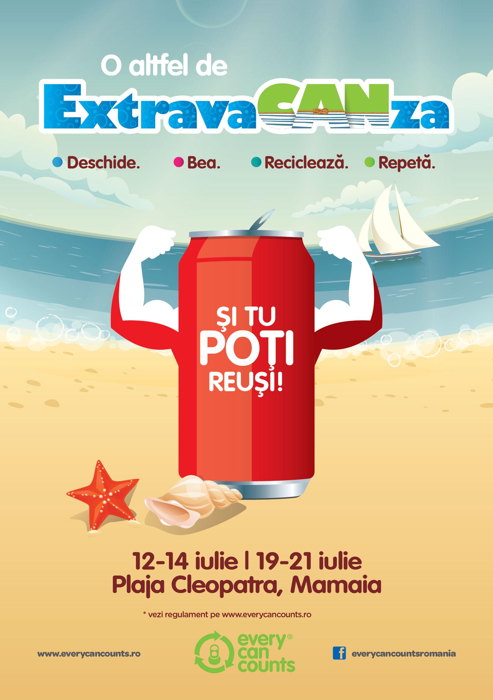 ExtravaCANza, aduce distracţie şi premii pe litoralul românesc