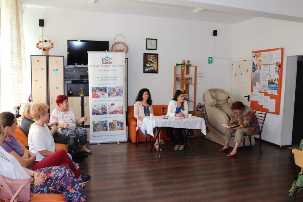 Un nou proiect FSC menit să contribuie la un viitor mai bun pentru bunicii din Bacău