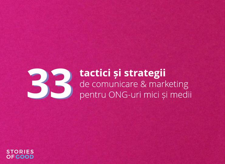 S-a lansat un ebook cu recomandări de  comunicare și marketing pentru ONG-uri!