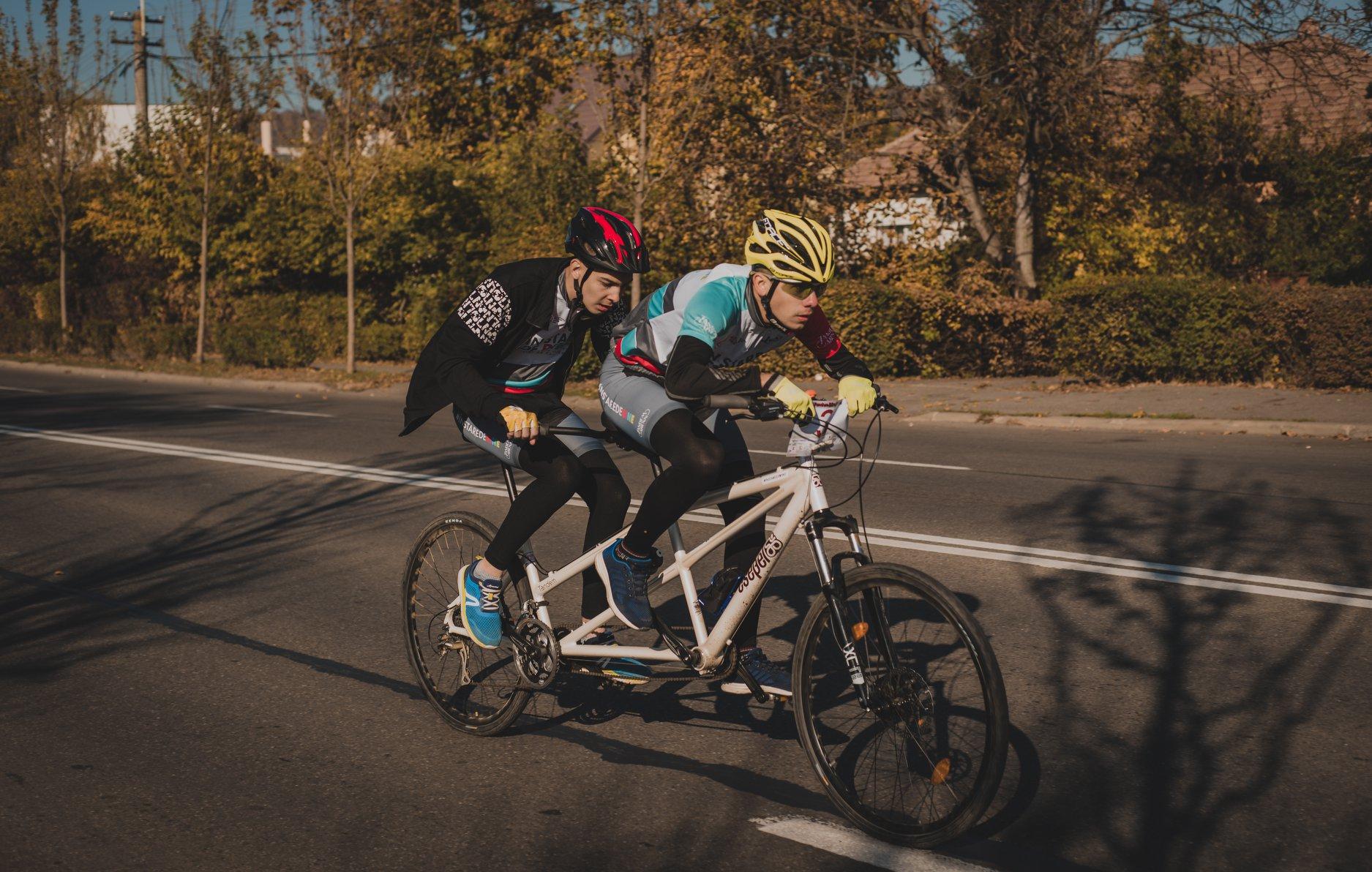 Tandem BikeFland, primul proiect de ciclism în tandem din România, a ajuns la cea de-a doua ediție