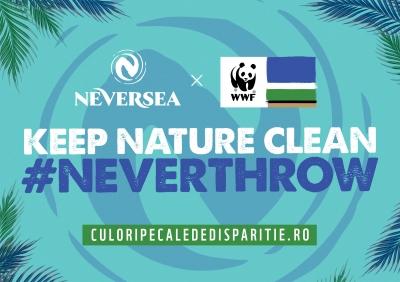 Neversea, primul brand ambasador al campaniei Culori pe cale de dispariÈ›ie