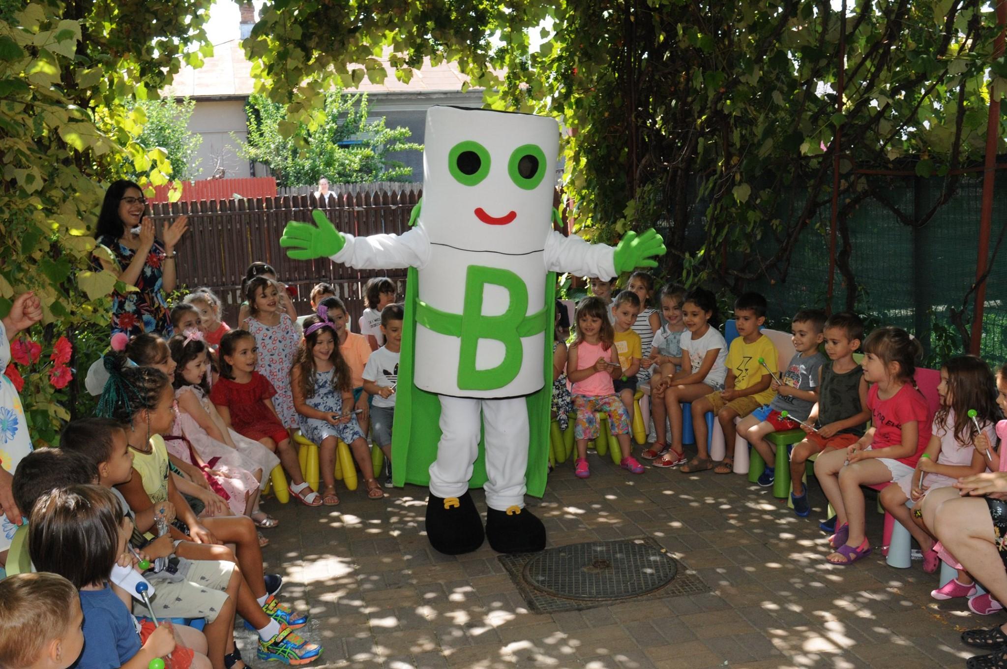 Environ și SNRB lansează un nou proiect educațional prin care îi învață pe copii să protejeze mediul