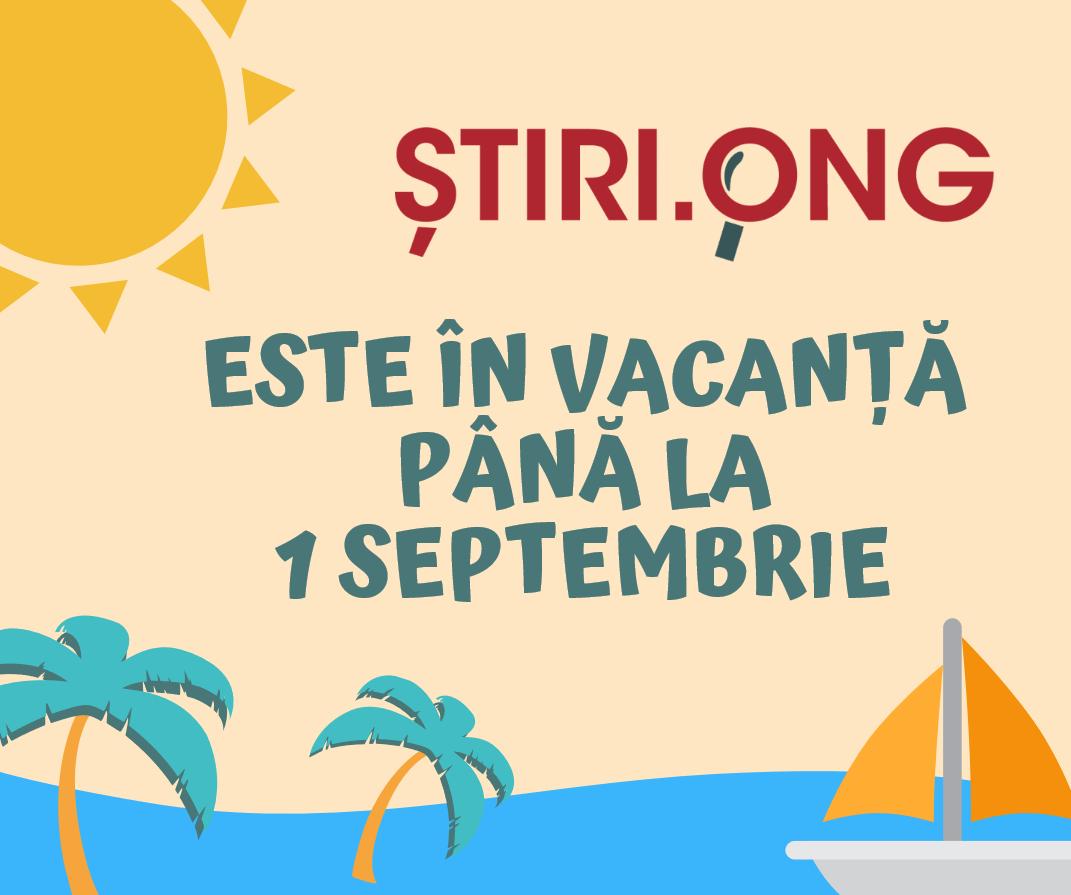 Suntem în vacanță până la 1 septembrie