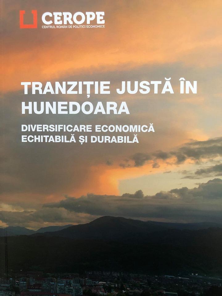 """Greenpeace România și Bankwatch România tocmai au lansat, la Lupeni, raportul """"Tranziție justă în Hunedoara - Diversificare economică, echitabilă și durabilă�"""