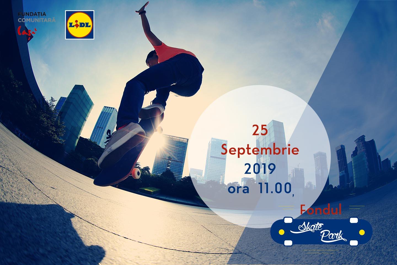 Fundația Comunitară Iași a modernizat Skate Park-ul din Iași, care se deschide pe 25 septembrie