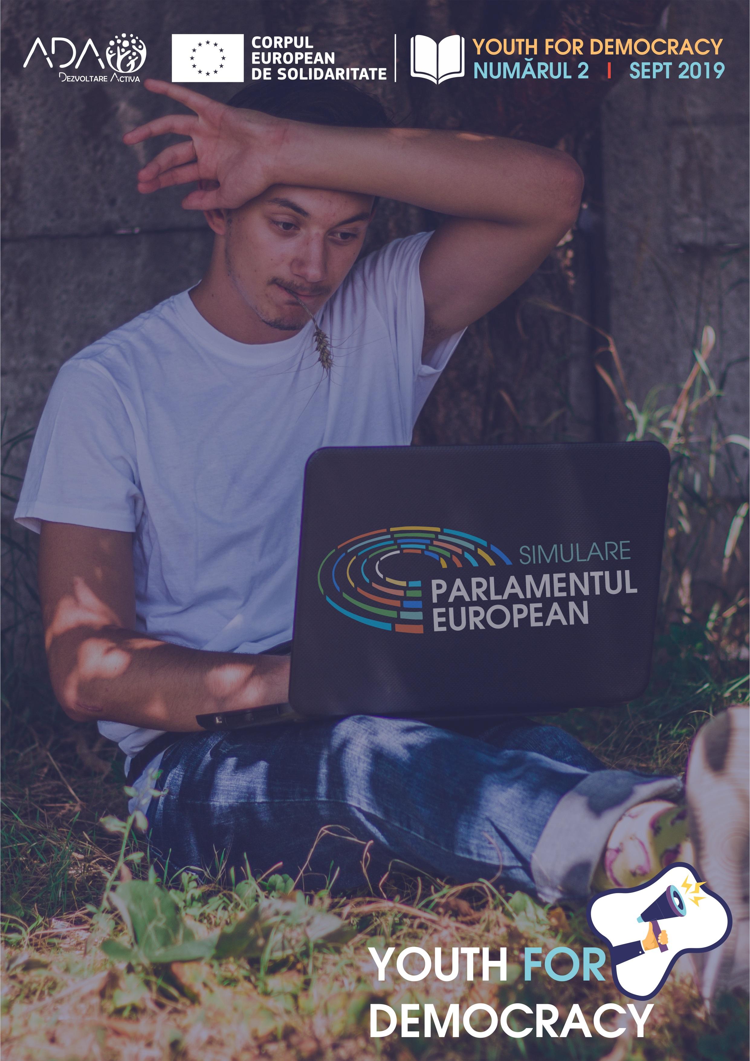Asociația pentru Dezvoltare Activă ADA lansează un nou număr al revistei Youth for Democracy