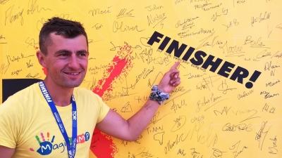 Vlad Crișan-Pop s-a întors de la Tor des Geants Italia cu o victorie pentru copiii MagiCAMP