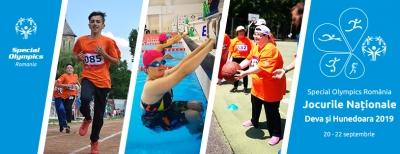 Cel mai mare eveniment sportiv dedicat persoanelor cu dizabilități     intelectuale începe pe 20 septembrie la Deva și Hunedoara