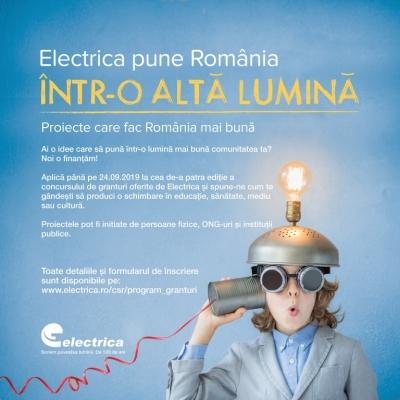 Electrica derulează cea de-a patra ediție a competiției naționale de  proiecte pentru comunitățile locale