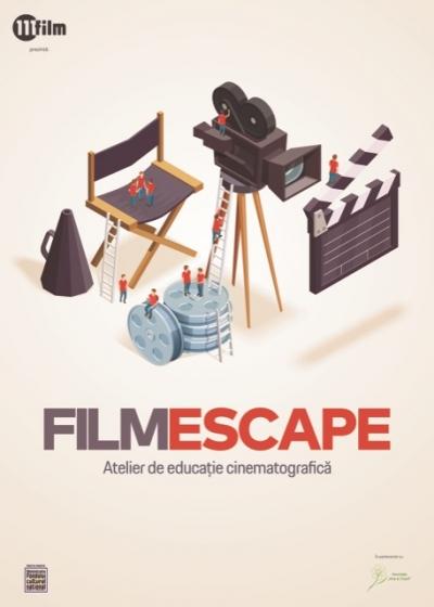 Progam de educație cinematografică pentru copiii din centrele de zi