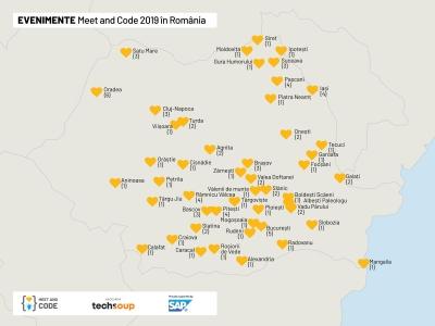 Meet and Code și-a ales proiectele câștigătoare în România