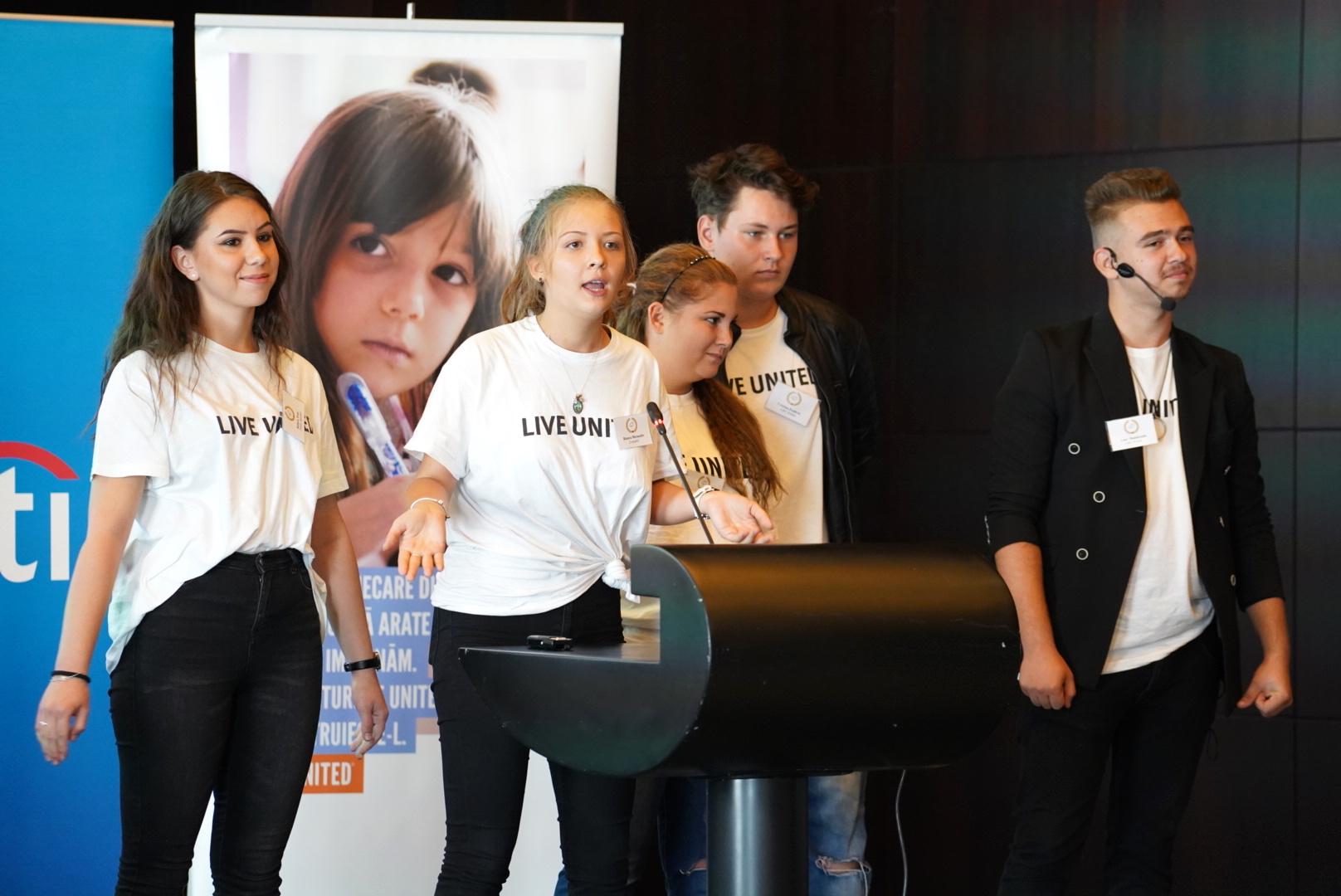 FundaÈ›ia United Way: program pilot de antreprenoriat pentru tinerii defavorizaÈ›i din licee