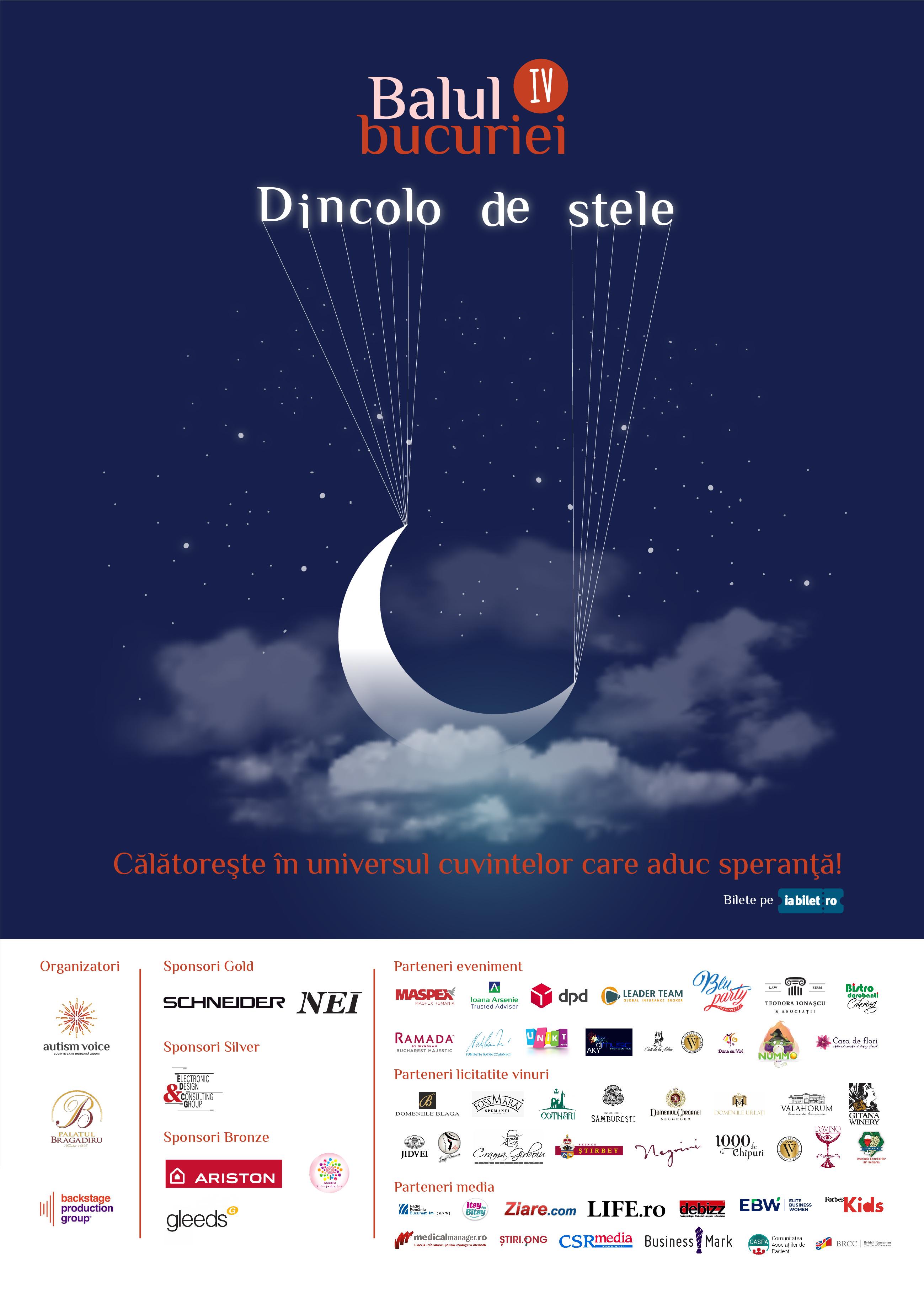 """Autism Voice organizează a IV -a ediție a evenimentului caritabil """"Balul Bucuriei�"""
