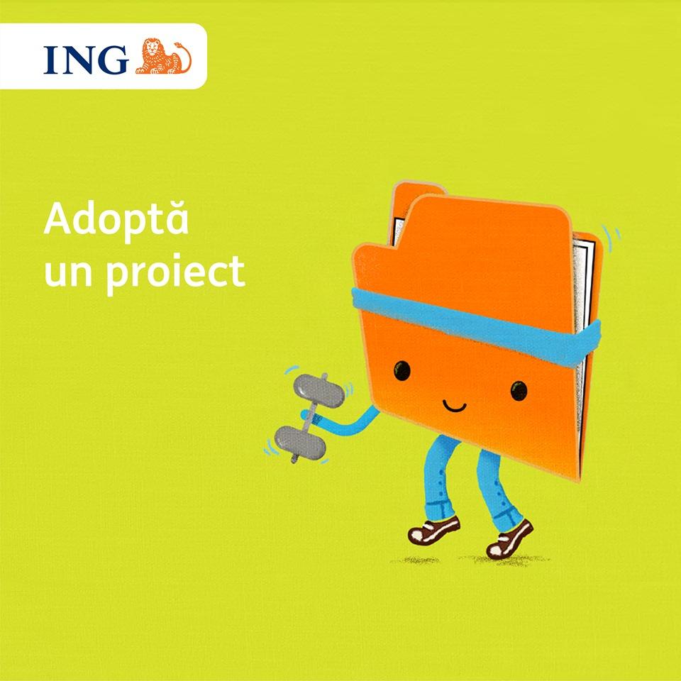 """ING Bank România continuă competiția """"Adoptă un proiect"""", granturi totale de 250.000 euro"""