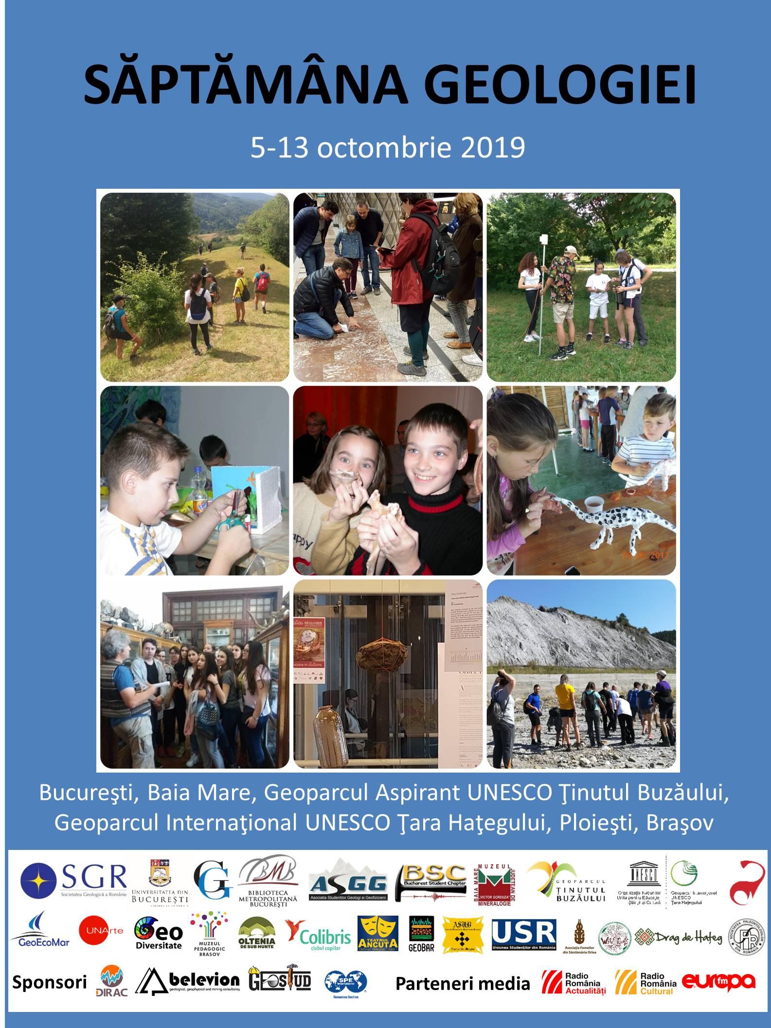 Săptămâna Geologiei, celebrată în Geoparc