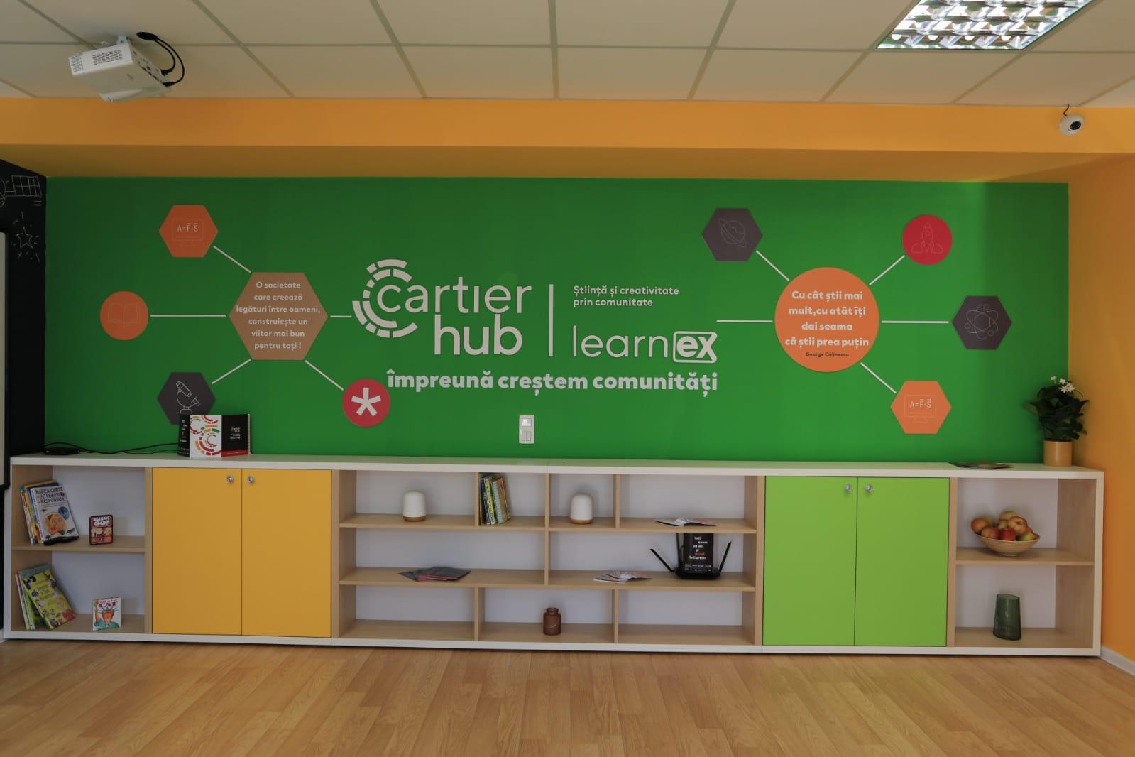 Ceetrus în parteneriat cu Kasper Development și Learnex inaugurează al doilea hub comunitar din România, în cadrul Cartier Coresi din Brașov