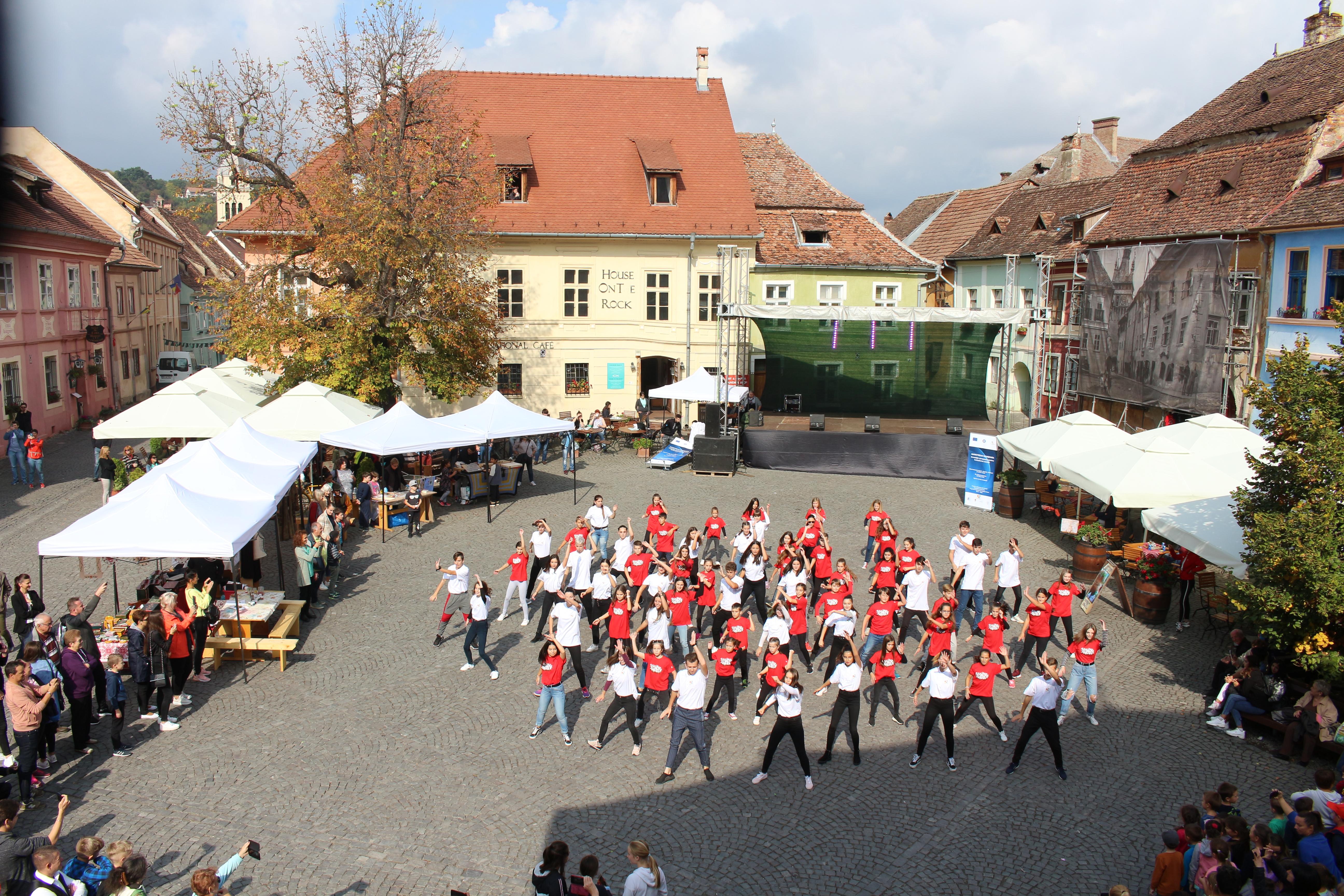 Flash Mob De Zilele Patrimoniului European