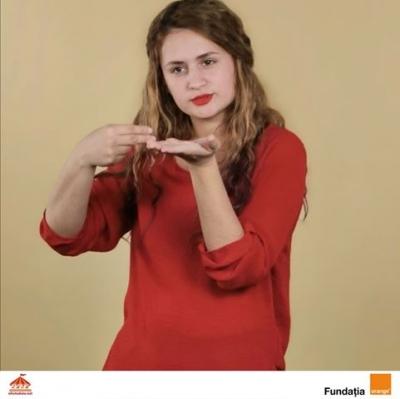 Platforma afostodata.net interpretează în limbaj mimico-gestual românesc texte din Programa școlară de clasa a V-a