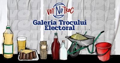 VotNuTroc.ro: se lansează Galeria Trocului Electoral