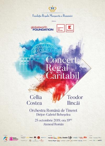 Fundația Regală Margareta a României vă invită la Concertul Regal, un eveniment caritabil cu istorie