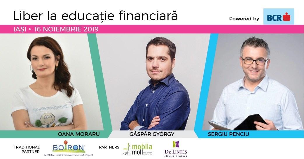 Eveniment de educație financiară pentru părinți la Iași