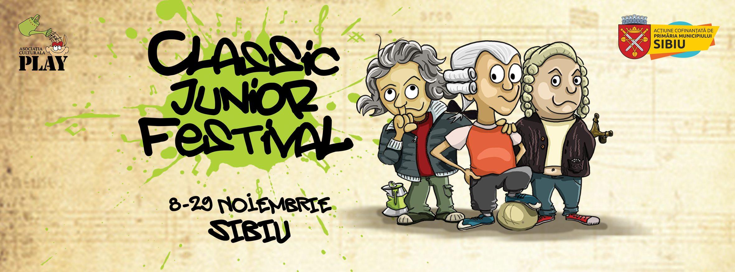 Muzica clasică devine mai atractivă copiilor, la Classic Junior Festival