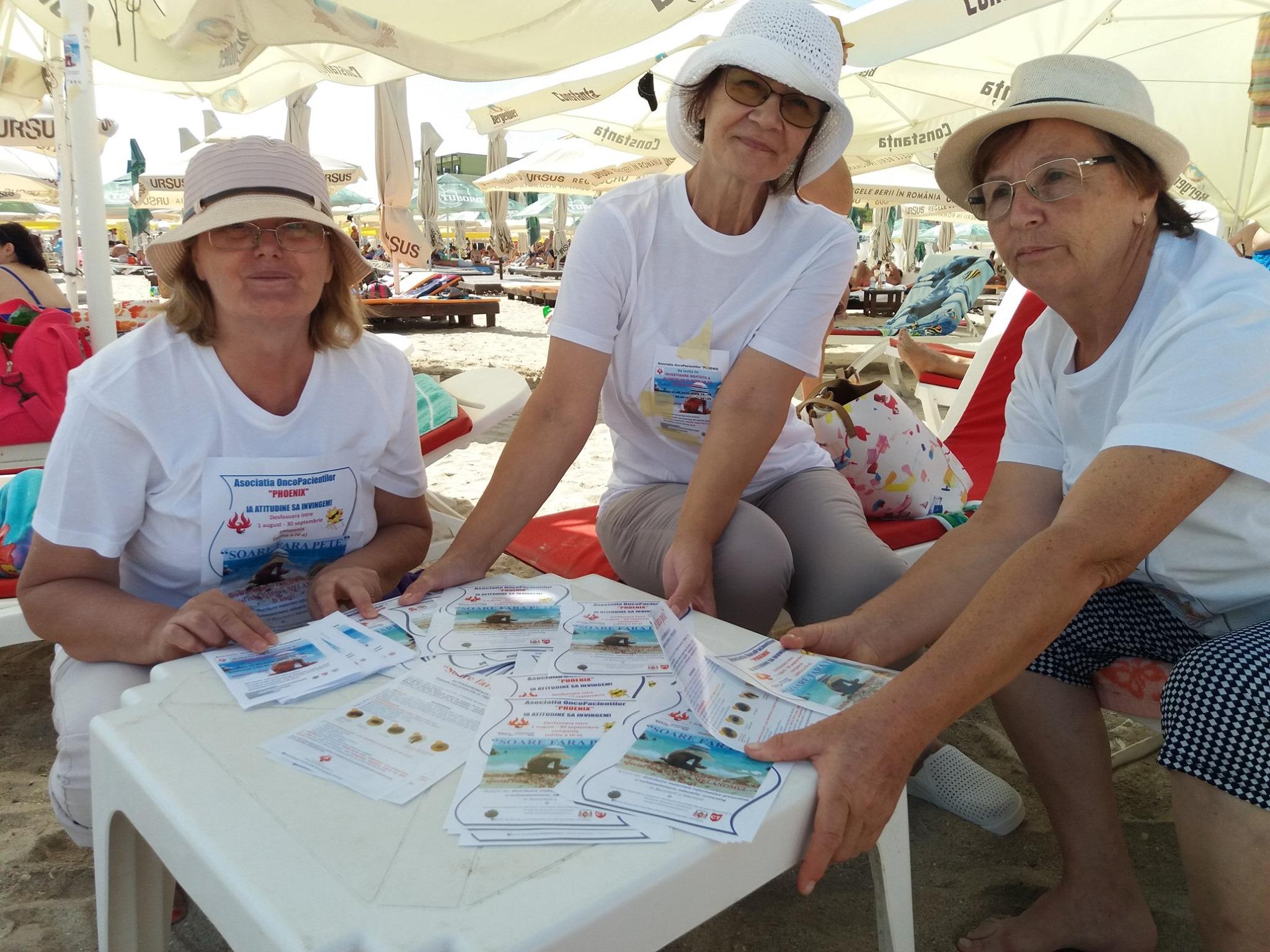 A IV-a ediţie a campaniei SOARE FĂRĂ PETE destinata prevenţie şi diagnosticării precoce a Cancerului de piele Melanom