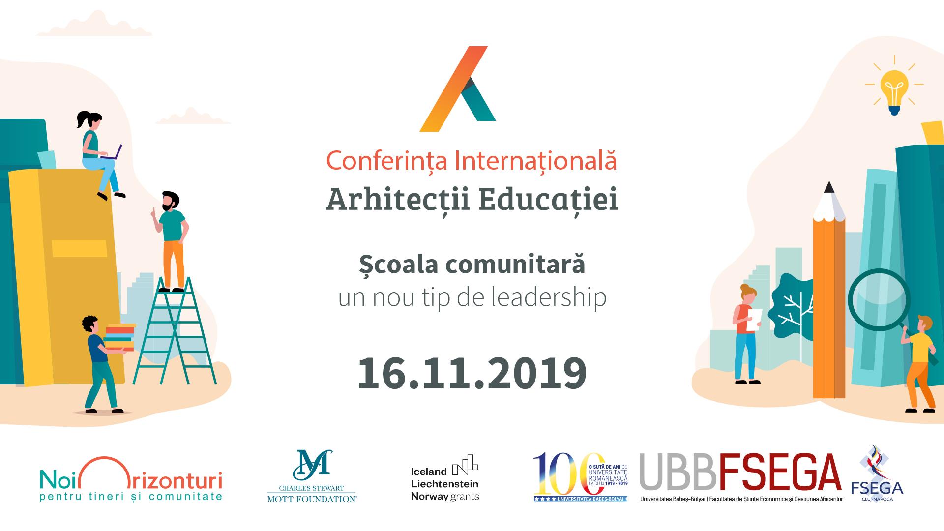 350 directori și actori în educație participă la Conferința Internațională Arhitecții Educației  pentru a dezvolta școala din România