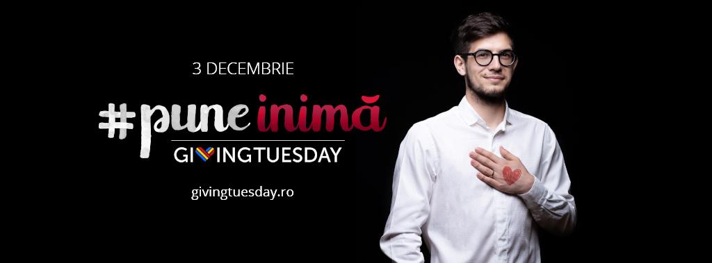 Andrei Stupu #puneinimă de Giving Tuesday
