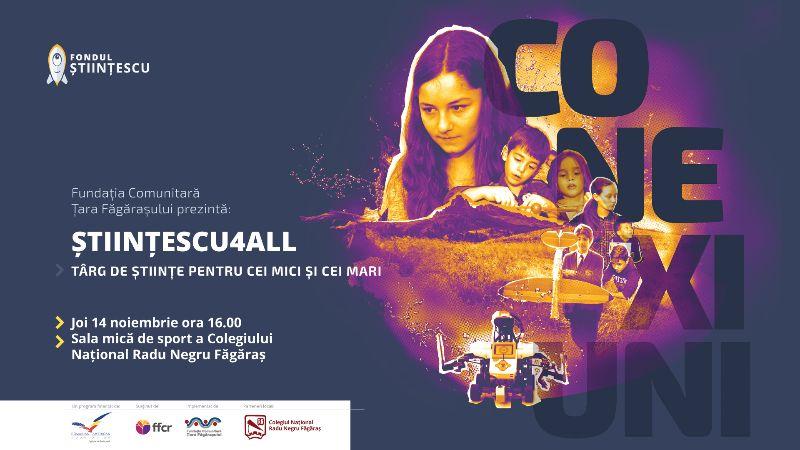 Științescu4all – târg de științe pentru cei mici și cei mari eveniment final ediția 3.0