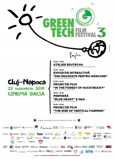 """GreenTech Film Festival aduce la Cluj-Napoca premiera documentarului """"Blue Heart�, un film prezentat de Patagonia"""