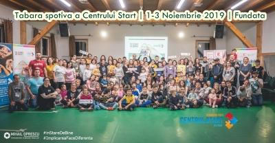 Tabară sportivă pentru copiii cu nevoi speciale din Centrul Start pentru autism