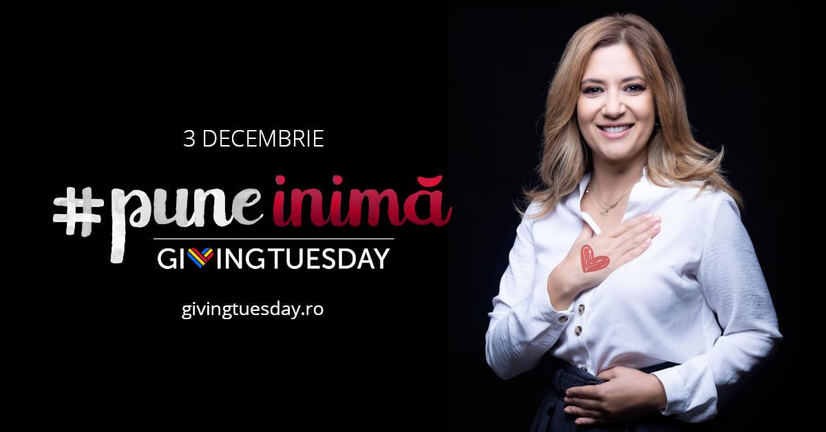 Amalia Enache #puneinimă de Giving Tuesday