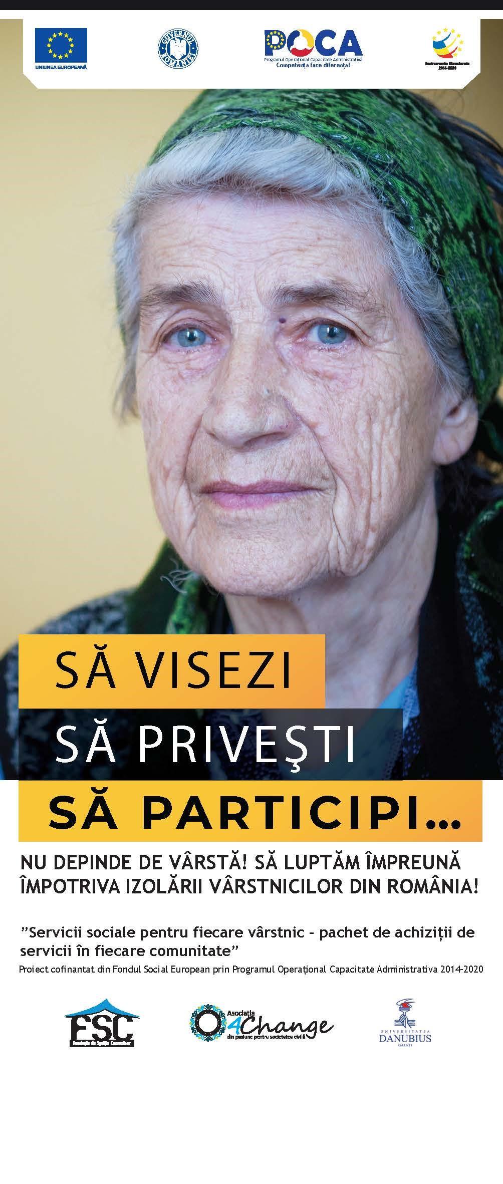 212.000 de persoane vârstnice au nevoie de servicii sociale adaptate nevoilor lor