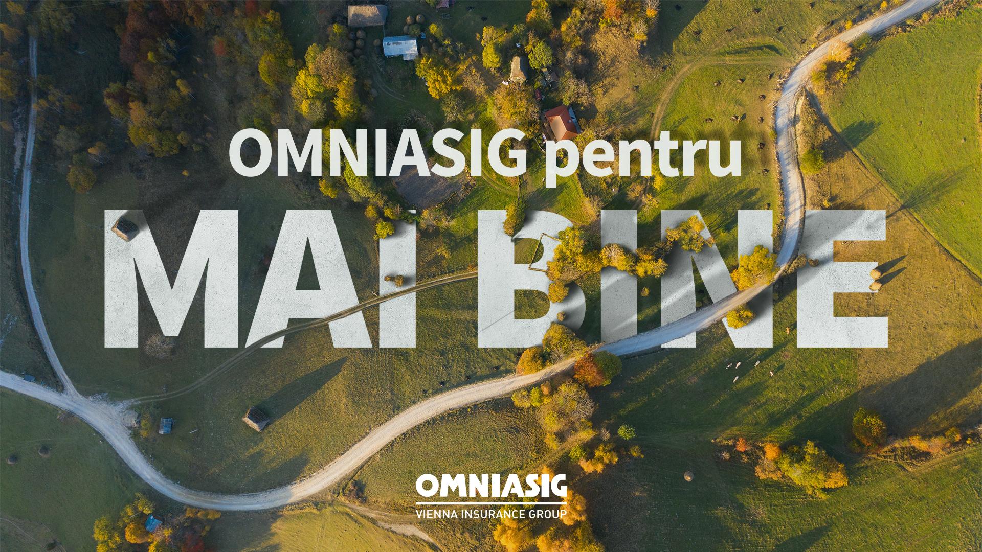 OMNIASIG pentru MAI BINE – o nouă campanie de CSR prin intermediul căreia compania de asigurări a renovat o școală din mediul rural