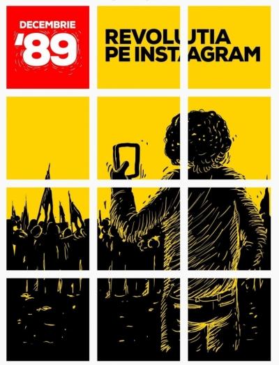 Retrăiește revoluția din decembrie '89 în story-uri pe Instagram