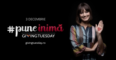 Diana Lupu #puneinimă de Giving Tuesday