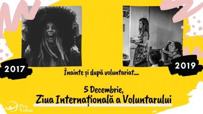 Voluntarii schimbă comunități iar voluntariatul schimbă oameni!