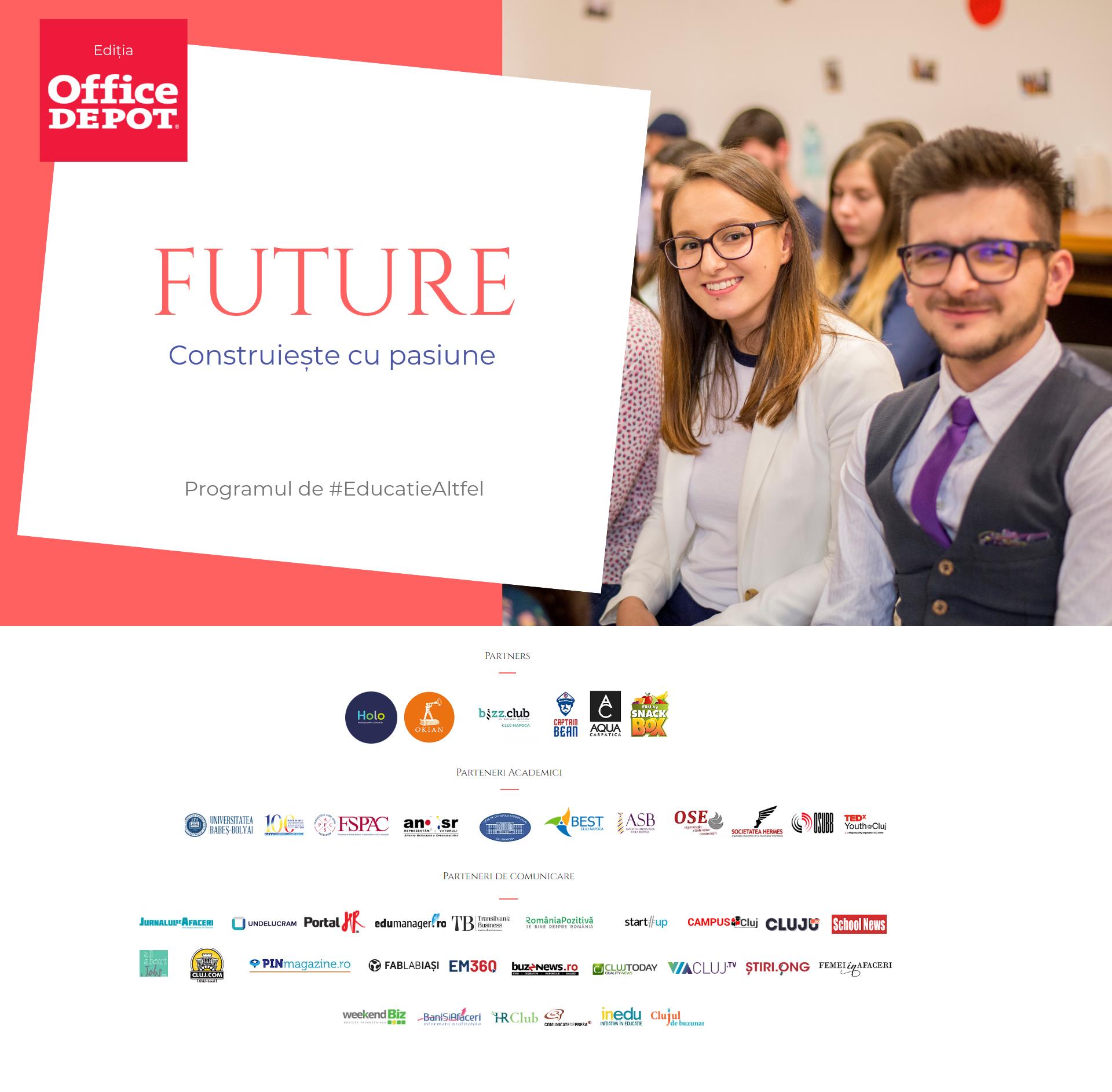 FUTURE - programul inovator prin care atragi noi angajați și te implici în #EducatieAltfel