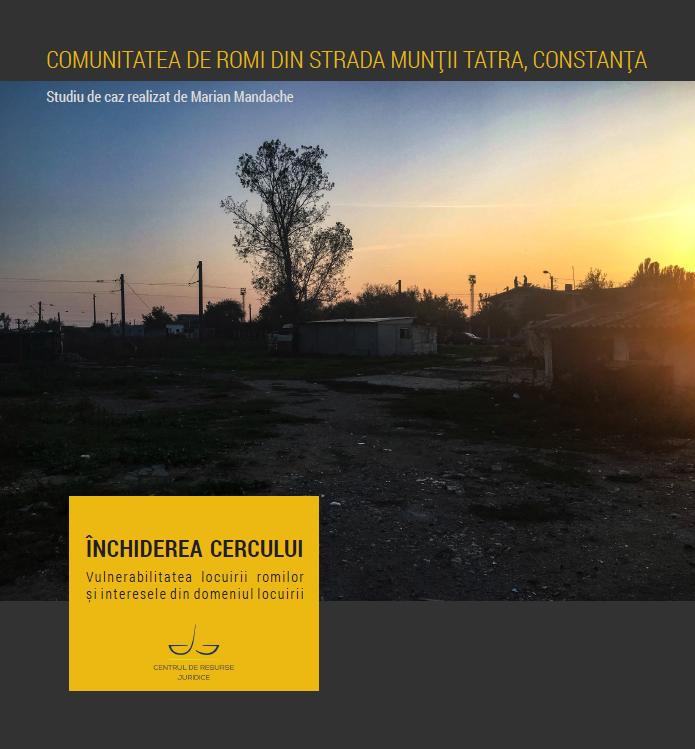 Studiul de caz Comunitatea de romi de pe strada MunÈ›ii Tatra, ConstanÈ›a
