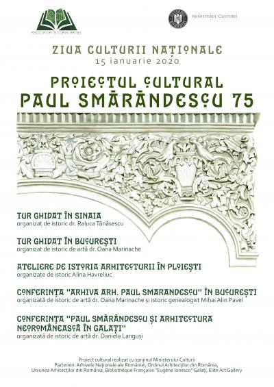 Asociația Istoria Artei și Ziua Culturii Naționale, evenimente în București, Ploiești, Sinaia și Galați